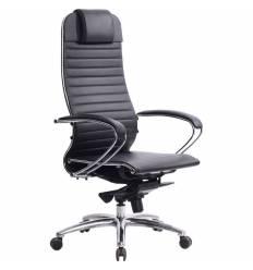 Кресло Samurai K-1.03 черный для руководителя, кожа