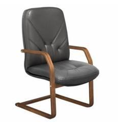 Кресло Стиль Комо/О дерево для посетителя