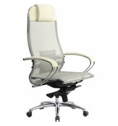 Кресло Samurai S-1.03 бежевый для руководителя, сетка