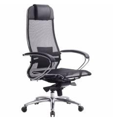 Кресло Samurai S-1.03 черный для руководителя, сетка