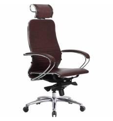 Кресло Samurai K-2.03 бордовый для руководителя, кожа