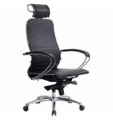 Кресло Samurai K-2.03 черный для руководителя, кожа