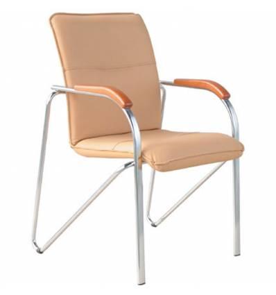 Кресло Стиль Самба хром для посетителя