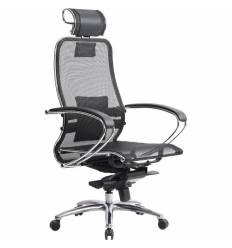 Кресло Samurai S-2.03 черный для руководителя, сетка