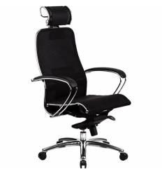 Кресло Samurai S-2.03 черный плюс для руководителя, сетка