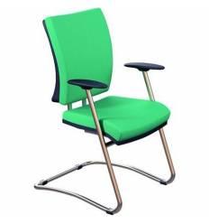 Кресло Стиль Эргономик/О хром для посетителя