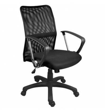 Кресло Стиль Арго низкий хром для оператора