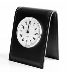 Часы настольные с циферблатом D103, кожа Cuoietto
