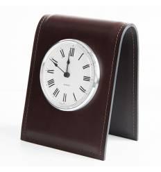 Часы настольные с циферблатом D103, кожа Full Grain/Cuoietto