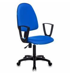 Кресло Бюрократ CH-1300N/BLUE Престиж+ для оператора, цвет синий