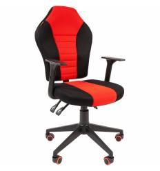 Кресло CHAIRMAN GAME 8 RED геймерское, кань, цвет красный/черный