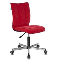 Кресло Бюрократ CH-330M/VELV88 для оператора, ткань, цвет красный