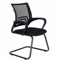 Кресло Бюрократ CH-695N-AV/B/TW-11 для посетителя, цвет черный, спинка сетка