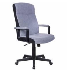 Кресло Бюрократ DOMINUS/G для руководителя, ткань, цвет серый
