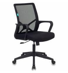 Кресло Бюрократ MC-101/B/26-B01 для оператора, цвет черный, спинка сетка