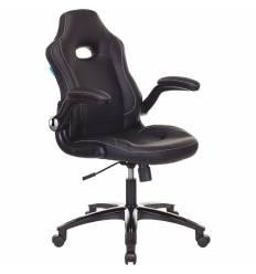 Кресло Бюрократ VIKING-1N/BLACK игровое (детское), экокожа, цвет черный