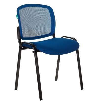 Стул Бюрократ Вики/BL/TW-10, ткань, цвет синий, спинка сетка