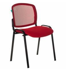 Стул Бюрократ Вики/R/TW-97N, ткань, цвет красный, спинка сетка