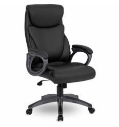 Кресло UTFC Store Веста М-703  для руководителя, черный пластик, экокожа, цвет черный