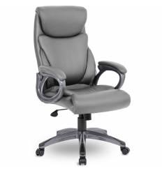 Кресло UTFC Store Веста М-703 для руководителя, серый пластик, экокожа, цвет серый