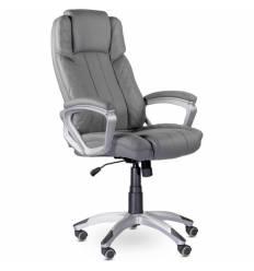 Кресло UTFC Store Ройс М-704 для руководителя, экокожа, цвет серый