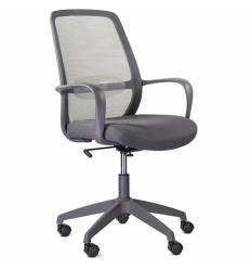 Кресло UTFC Store Понти М-802 для оператора, серый пластик, сетка/ткань, цвет серый