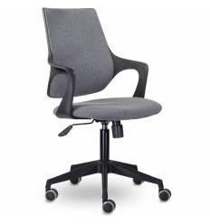 Кресло UTFC Store Ситро М-804 для оператора, черный пластик, ткань, цвет серый