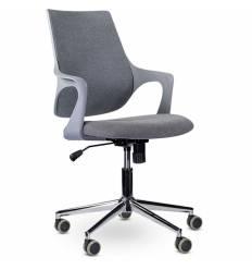 Кресло UTFC Store Ситро М-804 для оператора, серый пластик, ткань, цвет серый
