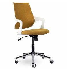 Кресло UTFC Store Ситро М-804 для оператора, белый пластик, ткань, цвет оранжевый