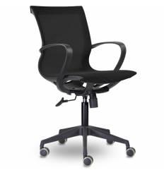 Кресло UTFC Store Йота М-805 для оператора, черный пластик, сетка, цвет черный