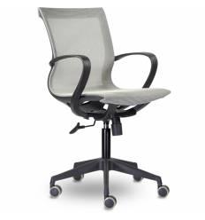 Кресло UTFC Store Йота М-805 для оператора, черный пластик, сетка, цвет серый