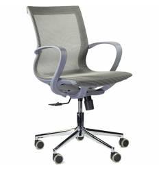 Кресло UTFC Store Йота М-805 для оператора, серый пластик, сетка, цвет серый