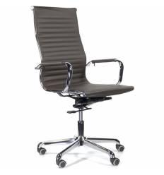 Кресло UTFC Кайман В СН-300 для руководителя, хром, экокожа