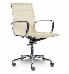 Кресло UTFC Кайман Н СН-300 для руководителя, хром, сетка