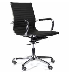 Кресло UTFC Кайман Н СН-300 для руководителя, хром, экокожа