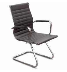 Кресло UTFC Кайман Н/П СН-300 для посетителя, хром, экокожа