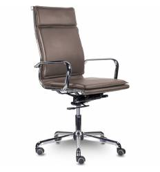 Кресло UTFC Кайман Комфорт В СН-301 для руководителя, хром, экокожа