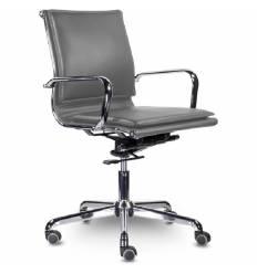 Кресло UTFC Кайман Комфорт Н СН-301 для руководителя, хром, экокожа