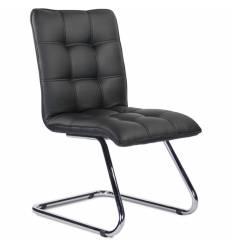 Кресло UTFC Фигаро Н/П К13 для посетителя, хром, экокожа