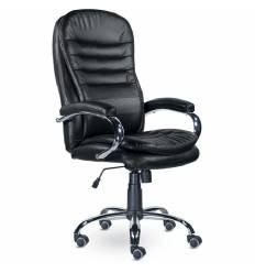 Кресло UTFC Вермонт СН-151 для руководителя, хром, экокожа