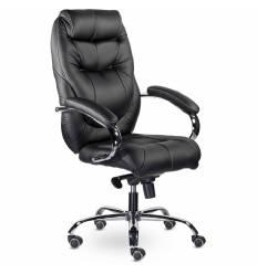 Кресло UTFC Аляска СН-153 для руководителя, хром, экокожа