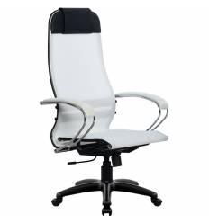 Кресло Metta SU-1-BK Комплект 4 белый для руководителя, сетка