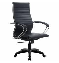 Кресло Metta SK-2-BK Комплект 10 черный для руководителя, Кожа NewLeather