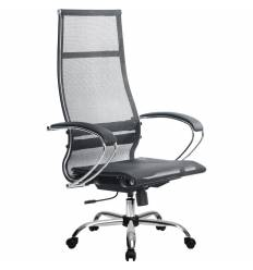 Кресло Metta SK-1-BK Комплект 7 черный для руководителя, сетка