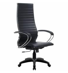 Кресло Metta SK-1-BK Комплект 8 черный для руководителя, Кожа NewLeather