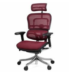Кресло Comfort Seating Ergohuman Plus Bordo для руководителя, эргономичное, сетка, цвет бордовый