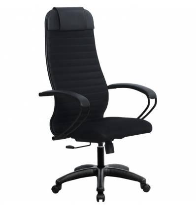 Кресло Metta SU-1-BP Комплект 21 черный для руководителя, ткань