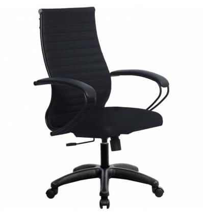Кресло Metta SK-2-BP Комплект 19 черный для руководителя, ткань