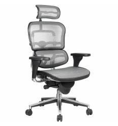 Кресло Comfort Seating Ergohuman Standart Grey для руководителя, эргономичное, сетка, цвет серый