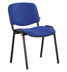 Стул BRABIX Iso CF-005 офисный, черный каркас, ткань синяя